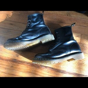 8 Eye Dr. Martens Boots Black